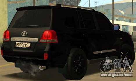 Toyota Land-Cruiser 200 for GTA San Andreas right view