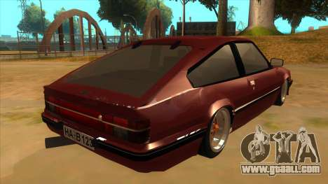 Opel Monza A2 for GTA San Andreas right view