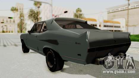 Chevrolet Nova 1969 StreetStyle for GTA San Andreas left view
