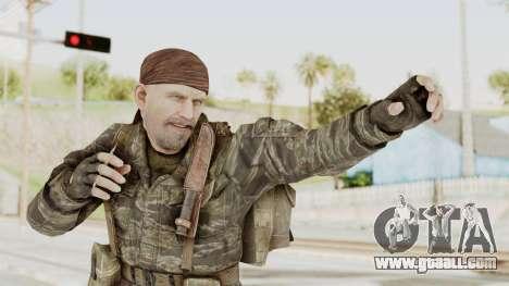 COD BO SOG Reznov v1 for GTA San Andreas