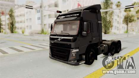Volvo FM Euro 6 6x4 v1.0 for GTA San Andreas right view