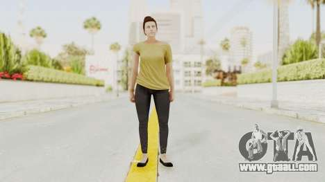 GTA 5 Online Female Skin 1 for GTA San Andreas second screenshot