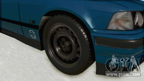 BMW 325i E36 for GTA San Andreas back view