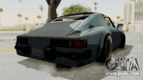 Comet 911 GermanStyle for GTA San Andreas back left view