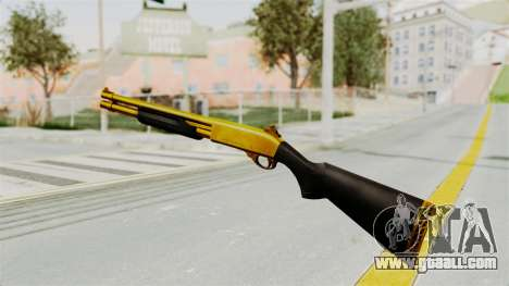 Remington 870 Gold for GTA San Andreas third screenshot