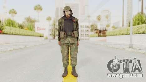 MGSV Ground Zeroes US Pilot v2 for GTA San Andreas second screenshot