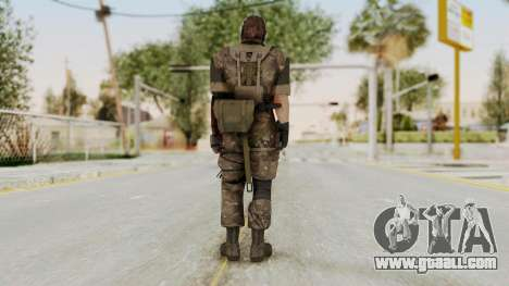 MGSV The Phantom Pain Venom Snake No Eyepatch v9 for GTA San Andreas third screenshot
