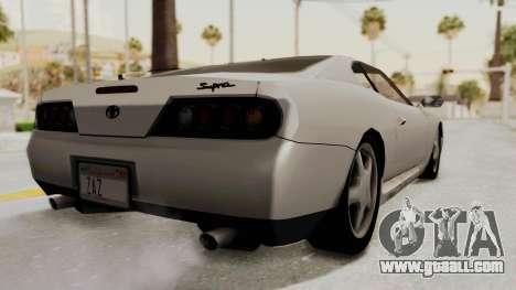 Jester Supra for GTA San Andreas left view