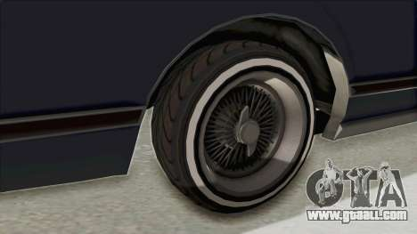 GTA 5 Dundreary Virgo Classic Custom v2 IVF for GTA San Andreas back view