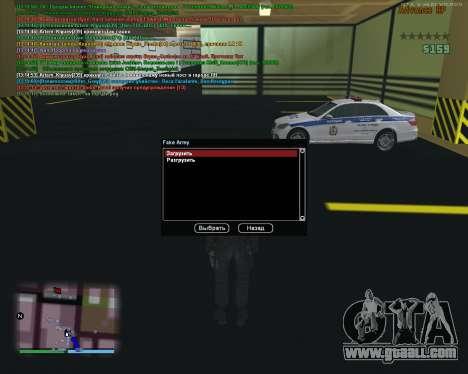 CLEO Fakearmy for GTA San Andreas second screenshot