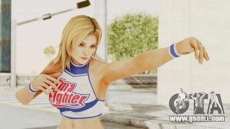 DoA Cheerleader Lisa for GTA San Andreas