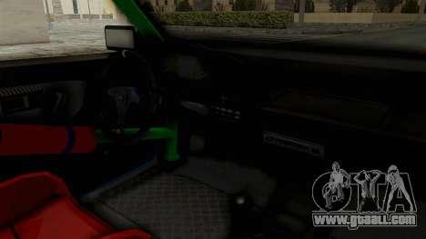 Honda Civic EF9 HellaFlush for GTA San Andreas inner view