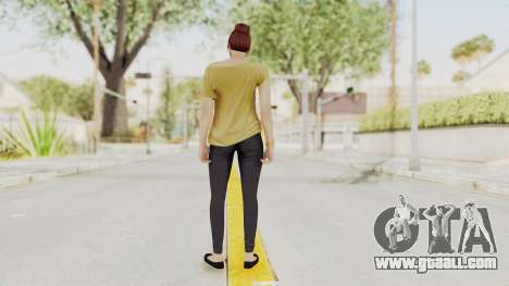 GTA 5 Online Female Skin 1 for GTA San Andreas third screenshot