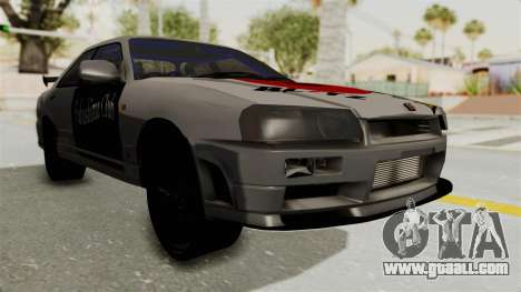 Nissan Skyline ER34 for GTA San Andreas