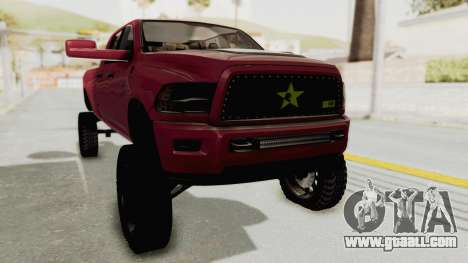 Dodge Ram Megacab Long Bed for GTA San Andreas right view