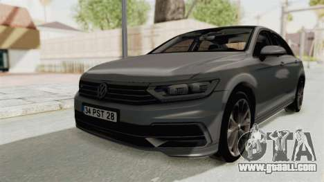 Volkswagen Passat B8 2016 RLine HQLM for GTA San Andreas