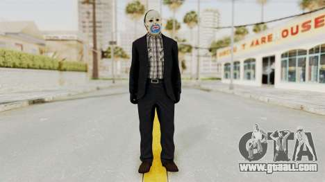 Joker Heist Outfit GTA 5 Style for GTA San Andreas second screenshot