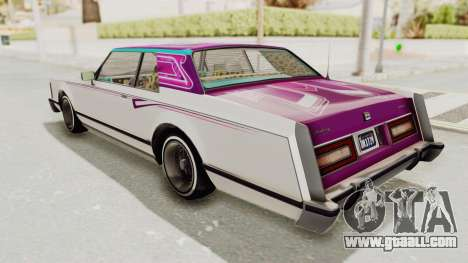 GTA 5 Dundreary Virgo Classic Custom v3 for GTA San Andreas