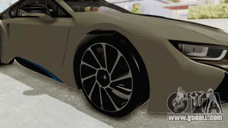 BMW i8-VS 2015 for GTA San Andreas back view