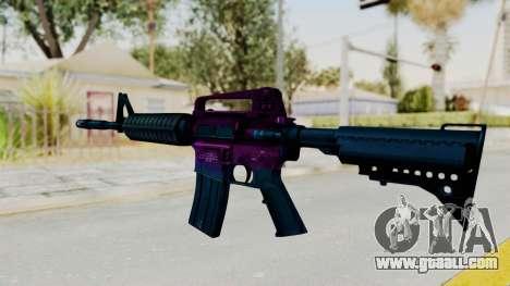 Vice M4 for GTA San Andreas second screenshot