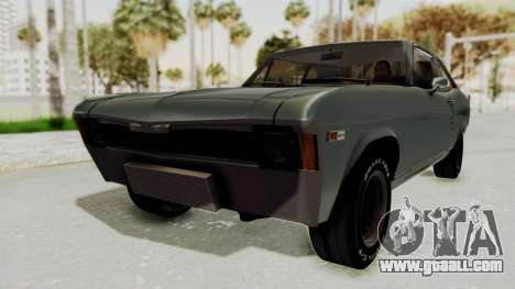 Chevrolet Nova 1969 StreetStyle for GTA San Andreas