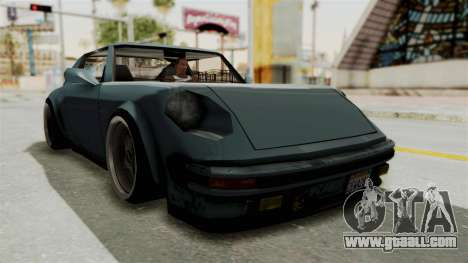 Comet 911 GermanStyle for GTA San Andreas right view