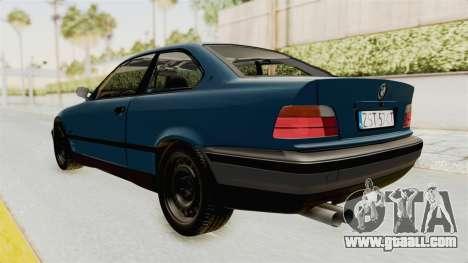 BMW 325i E36 for GTA San Andreas left view