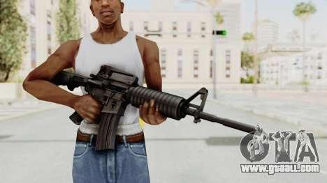 HD M4 v1 for GTA San Andreas third screenshot