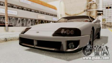 Jester Supra for GTA San Andreas