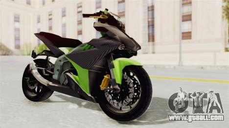Yamaha MX King 150 Modif 250 GP for GTA San Andreas