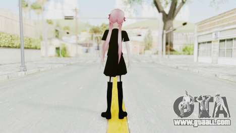 Gasai Yuno Black Dress for GTA San Andreas third screenshot