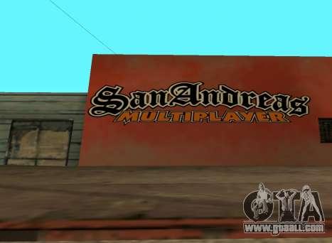 San Andreas Multiplayer Graffiti for GTA San Andreas