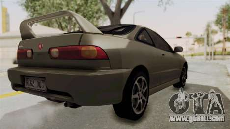 Acura Integra Fast N Furious for GTA San Andreas left view