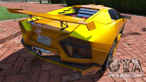 2008 Lamborghini Reventon 1.0 for GTA 5
