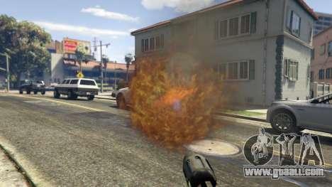 GTA 5 Real Flamethrower 1.5 fifth screenshot