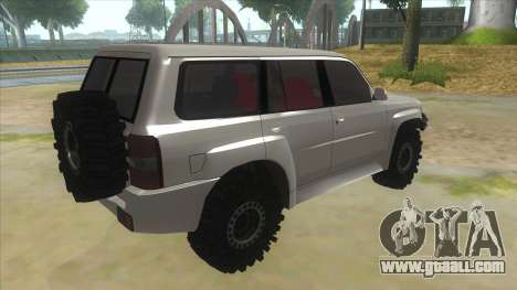 Nissan Patrol Y61 for GTA San Andreas right view
