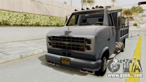 Chevrolet G30 for GTA San Andreas right view