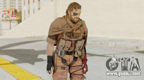 MGSV The Phantom Pain Venom Snake Scarf v5 for GTA San Andreas