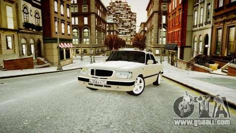 GAZ 3110 Turbo WRX STI for GTA 4 left view