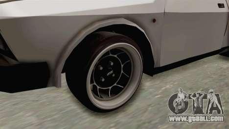 Zastava Yugo Koral 55 for GTA San Andreas back view