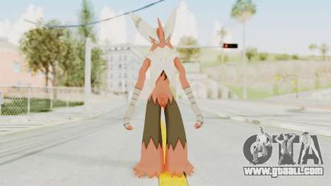 Mega Blaziken for GTA San Andreas second screenshot