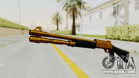 XM1014 Gold for GTA San Andreas
