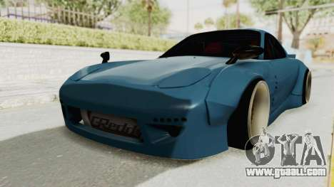 Mazda RX-7 FD3S Rocket Bunny v2 for GTA San Andreas