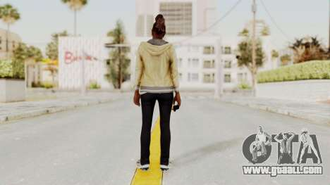 GTA 5 Denise Clinton v1 for GTA San Andreas third screenshot