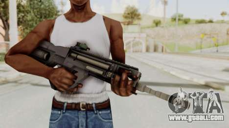 Integrated Munitions Rifle Black for GTA San Andreas third screenshot