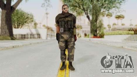 MGSV The Phantom Pain Venom Snake Scarf v4 for GTA San Andreas second screenshot