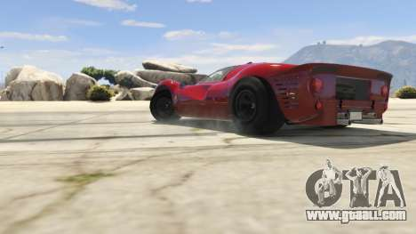 GTA 5 Ferrari 330 P4 1967 right side view
