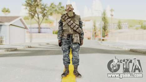 COD BO Russian Spetznas Flak MP v4 for GTA San Andreas second screenshot