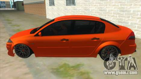 Renault Megane II Special TR for GTA San Andreas left view