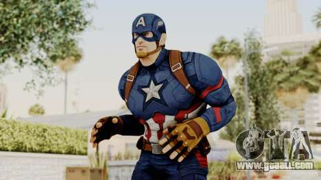 Captain America Civil War - Captain America for GTA San Andreas